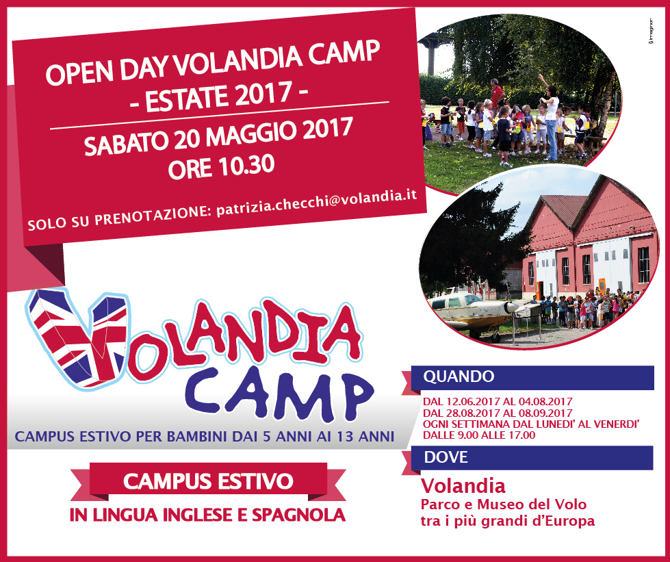 Open Day Volandia Camp 2017